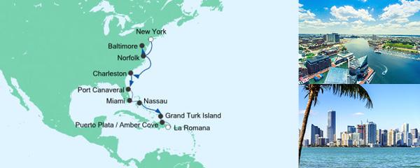 Mein Schiff Special EURESAreisen Von New York in die Dominikanische Republik 1