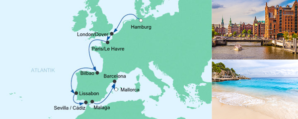 Von Hamburg nach Mallorca 5