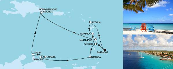 14 Tage Karibische Inseln II