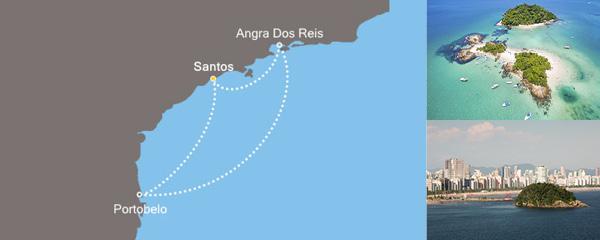 Routenverlauf Sonniges Brasilien am 16.12.2018