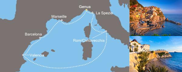 Routenverlauf Das Herz des Mittelmeers am 29.03.2019