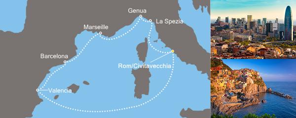 Routenverlauf Das Herz des Mittelmeers am 03.04.2019