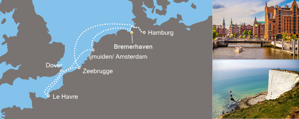 Routenverlauf Europas Metropolen am 04.05.2019