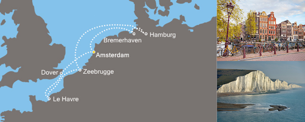 Routenverlauf Europas Metropolen am 05.05.2019