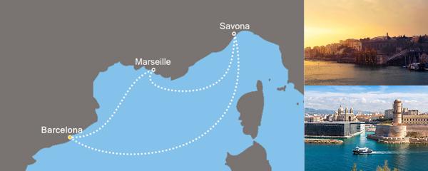 Routenverlauf Pastis und Paella am 15.04.2019