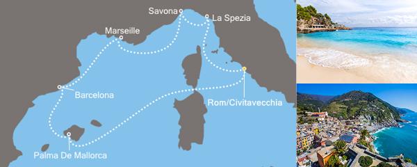 Routenverlauf Funkelndes Mittelmeer am 30.04.2020