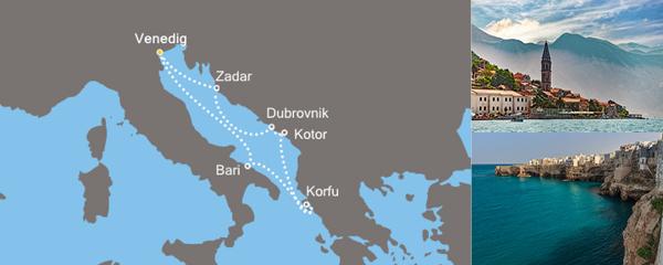Routenverlauf Geheimnisvolles Mittelmeer am 03.05.2019