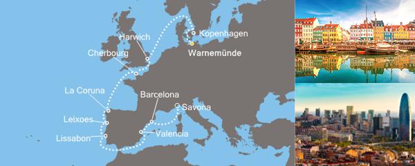 Routenverlauf Europas Königinnen am 30.08.2019