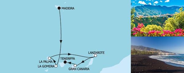 7 Tage Kanaren mit La Gomera