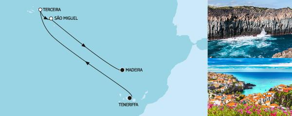 7 Tage Azoren mit Madeira