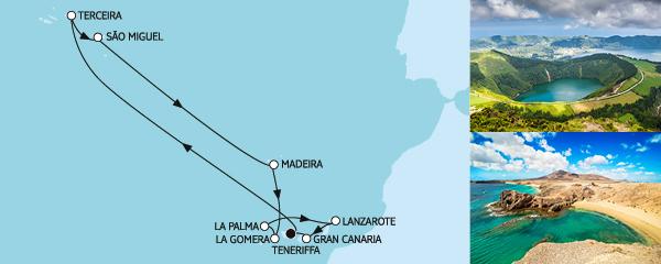 Kanaren mit La Gomera & Azoren