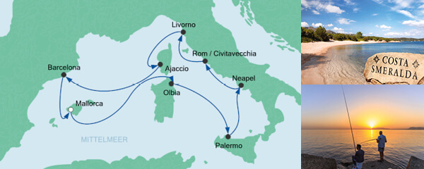 AIDA Seetours Angebot Mediterrane Highlights 1