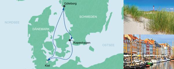 AIDA Verlockung der Woche Angebot Kurzreise ab Kiel 1