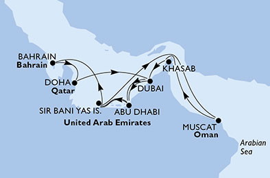 14 Tage Dubai, Abu Dhabi & Indien