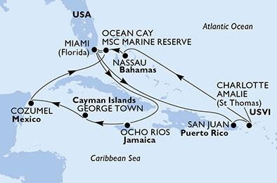 14 Tage Karibik & Antillen