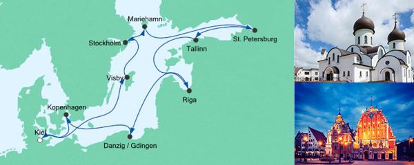 AIDA VARIO Kurzfristverkauf Große Ostsee-Reise