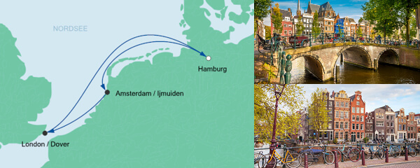 AIDA Spezialangebot Kurzreise ab Hamburg