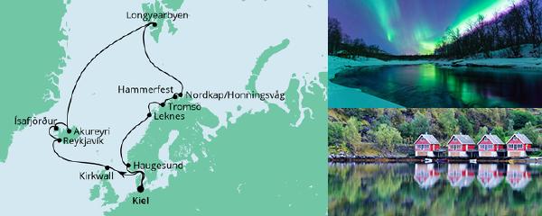 Routenverlauf Highlights am Polarkreis am 15.05.2021