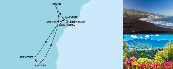 14 Tage Kanaren mit Madeira & Kapverden mit der Mein Schiff Herz