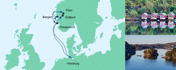 AIDA Spezialangebot Norwegens Küste 3