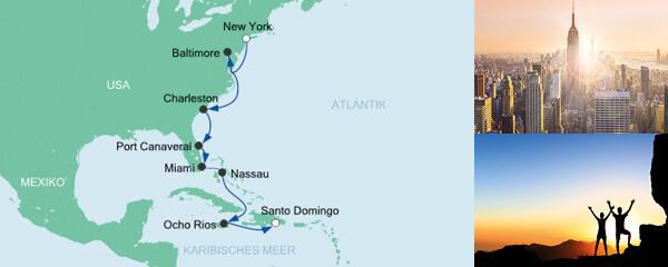 AIDA Seetours Angebot Von New York in die Dominikanische Republik 5