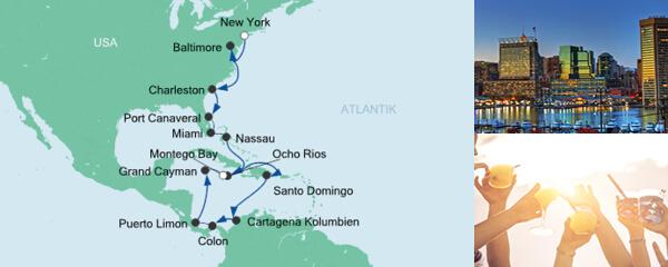 AIDA Angebotsextra Von New York nach Jamaika 3