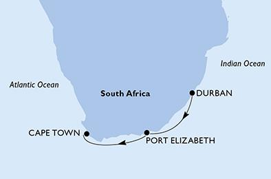 4 Tage Südafrika