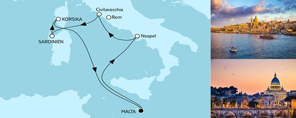 7 Tage Mittelmeer mit Italien III