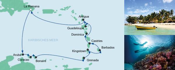 AIDA Seetours Angebot Karibische Inseln 1