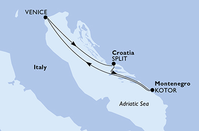 3 Tage Mittelmeer