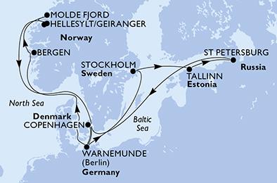 14 Tage Nordeuropa