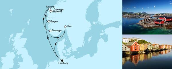 8 Tage Norwegen mit Geirangerfjord I