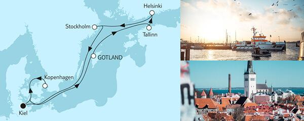 8 Tage Ostsee mit St. Petersburg I