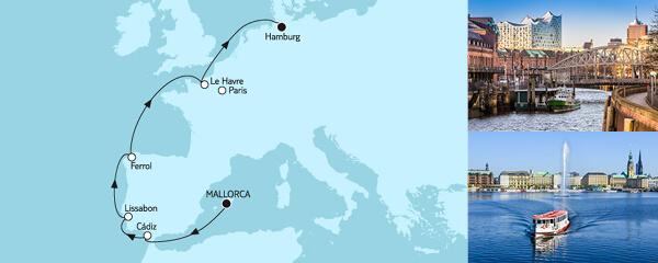9 Tage Mallorca bis Hamburg I