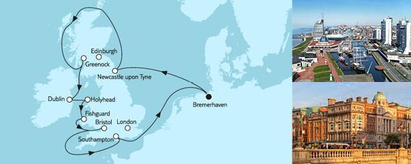 Großbritannien ab Bremerhaven III