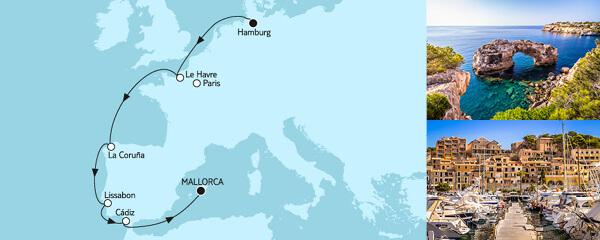 TUI - 02.10.2020 - Hamburg bis Mallorca II - Preise