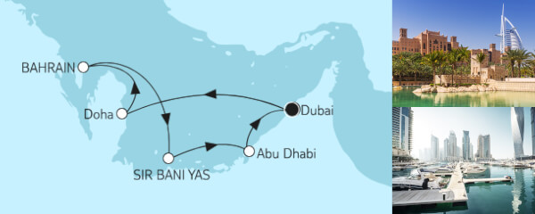 8 Tage Dubai mit Bahrain