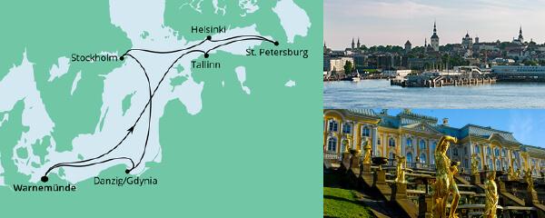 AIDA Spezialangebot Ostsee 2