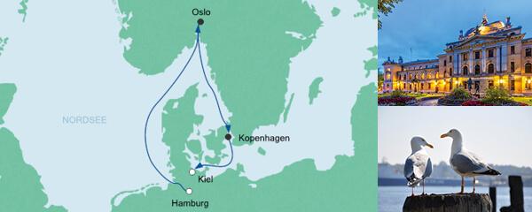 AIDA Pauschal Angebot Kurzreise von Hamburg nach Kiel