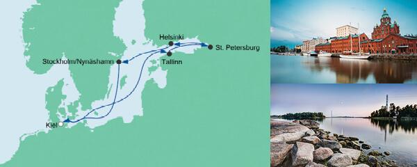 AIDA Seetours Angebot Ostsee ab Kiel