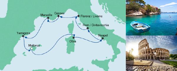 AIDA Spezialangebot Mediterrane Highlights