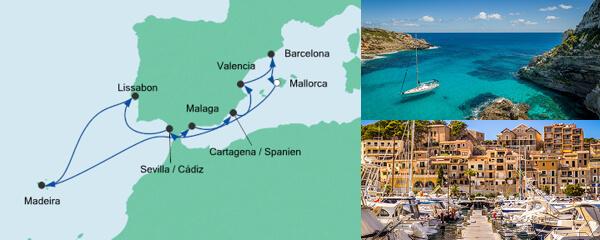 Spanien, Portugal & Madeira