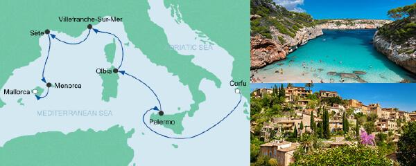 Von Korfu nach Mallorca