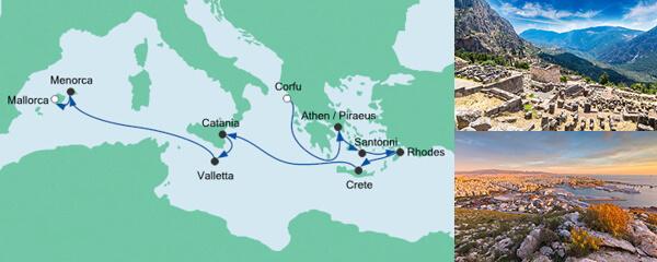 Von Korfu nach Mallorca 2