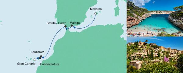 Von Mallorca nach Gran Canaria 3