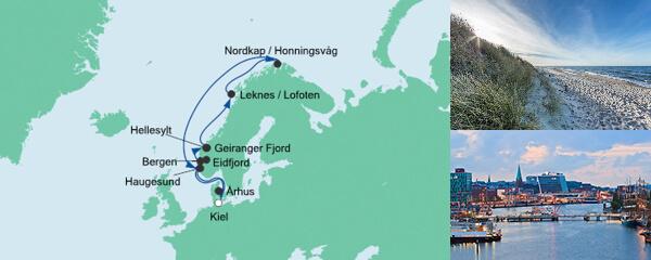 AIDA Spezialangebot Norwegen mit Lofoten & Nordkap 3