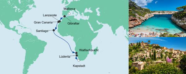 Von Mallorca nach Kapstadt 3