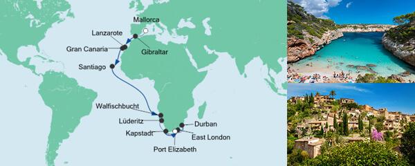 Von Mallorca nach Kapstadt 4