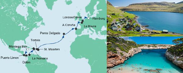AIDA Pauschal Angebot Von Jamaika nach Hamburg 4
