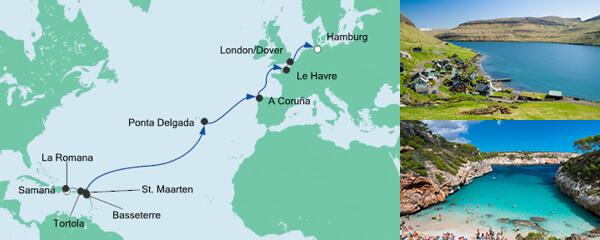 AIDA Pauschal Angebot Von der Dominikanischen Republik nach Hamburg 4